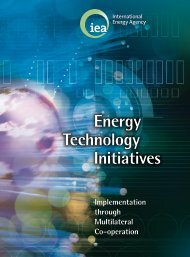 Energy Technology Initiatives: Implementation through Multilater Co ...