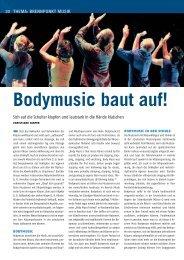 Bodymusic baut auf! - Schott Music