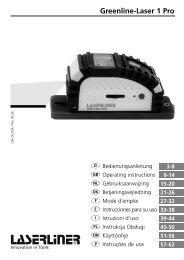 Greenline-Laser 1 Pro - Spot-on.net