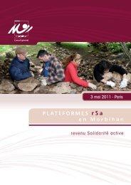 Présentation des plateformes - Conseil général du Morbihan