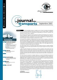 Le journal des transport - N°51 - ORT PACA