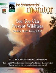 You Too Can Prevent Wildfires