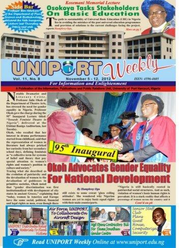 Vol. 11 No. 8 November 5 - 12, 2012