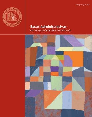 Bases Administrativas - Biblioteca - Cámara Chilena de la ...