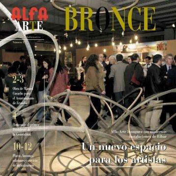 10-12 2-3 4 Un nuevo espacio para los artistas Un nuevo ... - Alfa Arte
