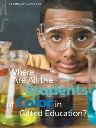 Where Are All the Students of Color in Gifted Education? - National ...
