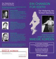 Download aktueller Flyer im PDF-Format - Chanson-Café Europa