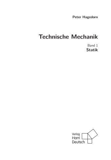 Formelsammlung technische mechanik for Technische mechanik grundlagen pdf