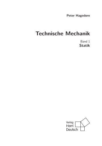 6 grundbegriffe 1 5 einte for Technische mechanik statik aufgaben