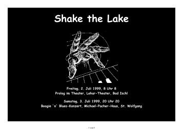 1999 - Shake the Lake