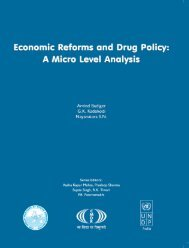 Economic Reforms and Drug Policy - Indian Institute of Public ...