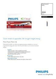 LR03P12W/10 Philips Batteri