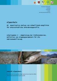 Arbeitspaket 2 - Adaptierung der Präferenzkurven, Definition von ...