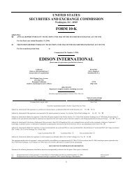 Form 10-K - Edison International