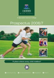 Prospectus 2006/7 - School of Educators