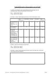 voorbeeld evaluatieformulier - Waternet