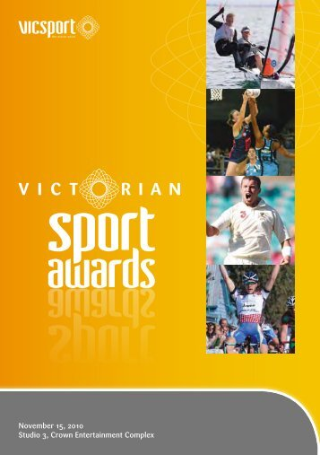 2010 Victorian Sport Awards Booklet - VicSport