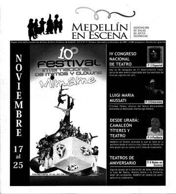 EN ESCENA I - Casa del Teatro de Medellín