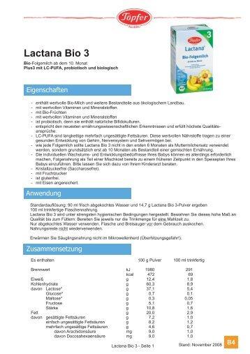 Lactana Bio 3