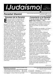 Parashat Shemini - Ohr Somayach