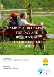 Case Study 2_Energy Audit Report for Day and Residential ... - MIEMA