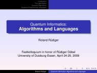 Algorithms and Languages - enigma software GmbH