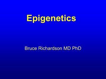 Epigenetics Methods