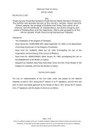 Law on the Implementation of the Civil Code - The Council for the ...