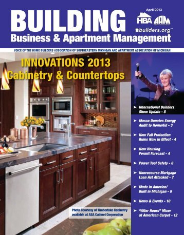 April 2013 BBAM Magazine - HBA of Southeastern Michigan