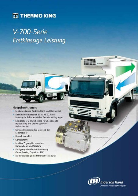 V-700-Serie V-700-Serie - Servo King Klimaanlagen