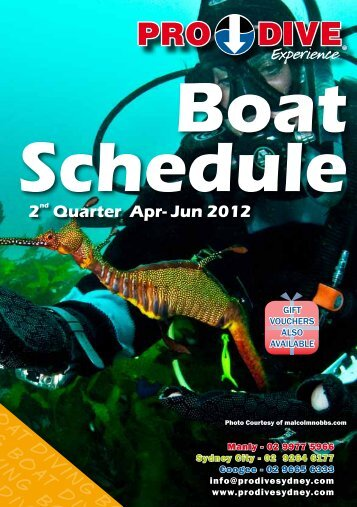 Double Boat Dives - Online Scuba Diving Booking System