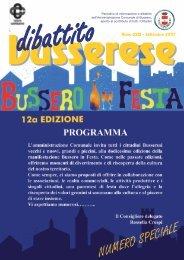 Settembre 2007 - Comune di Bussero
