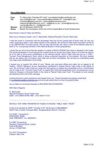 Huvudidentitet Sida 1 av 2 2004-12-28 - Round Table Sweden