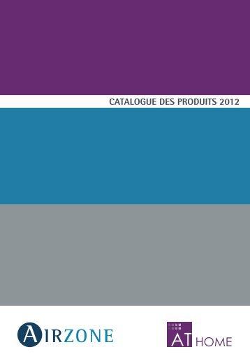 CATALOGUE DES PRODUITS 2012 - Airzone