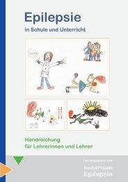 Übergang Schule - Ausbildung - Modellprojekt Epilepsie