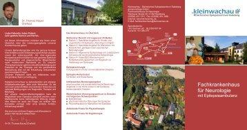 Prospekt Fachkrankenhaus - Kleinwachau