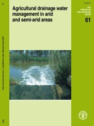 Agricultural drainage water management in arid and semi ... - FAO.org