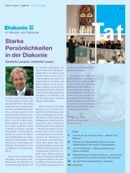 in dertat - Diakonisches Werk Hessen-Nassau