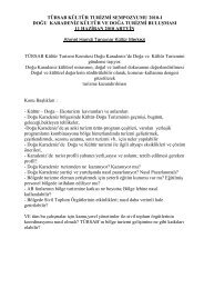türsab kültür turizmi sempozyumu 2010-ı doğu karadeniz kültür ve