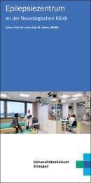 Epilepsiezentrum - Universitätsklinikum Erlangen