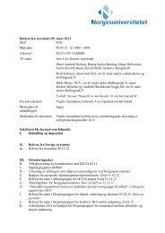 Referat 05.03.2013 - Norgesuniversitetet