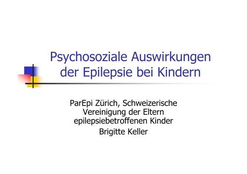 MOSES modulares Schulungsprogramm Epilepsie