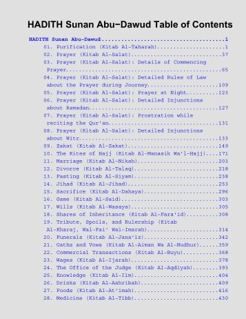 Download Sunan Abu Dawud