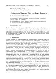 Conductivity of Quantum Wires with Rough Boundaries