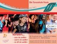 tanzen... - Tanzschule Frank
