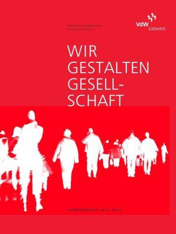Jahresbericht 2010/2011 - VdW südwest