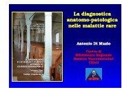 La diagnostica anatomo-patologica patologica nelle malattie rare