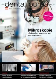 Mikroskopie in der zahnheilkunde - KAVO.cz