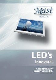 MAST LET LIGHT CATALOG 2010 (pdf) - Euro Marine Trading Inc.