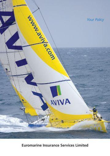 AVIVA - Craft Insurance - Euromarine Insurance Services Ltd